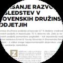 Vprašanje razvoja nasledstev v slovenskih družinskih podjetjih